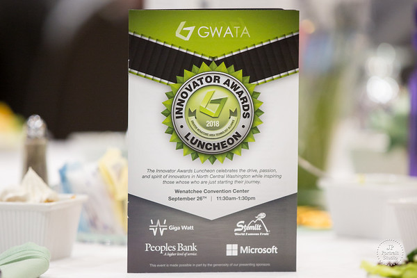 GWATA Innovator Awards Luncheon 9.26.2018