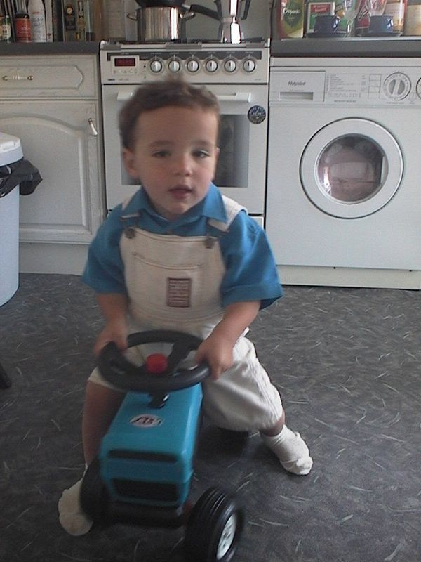 Thomas - 2nd Birthday