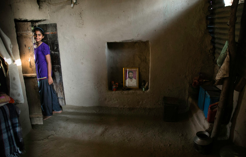 Vaisnavi Thakare, 12, Village- Sonora
