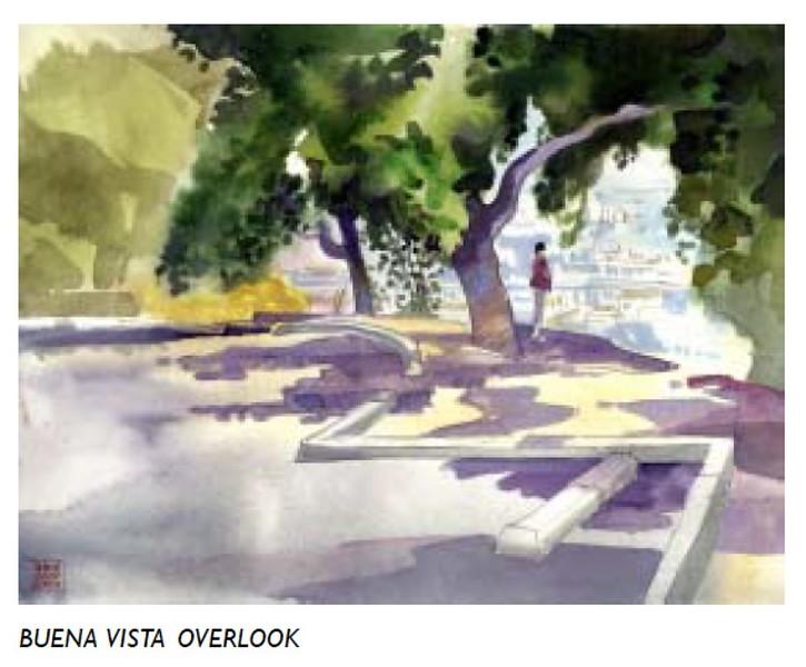 2006, Buena Vista Overlook Water Color