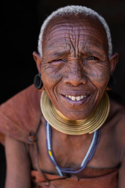 A Datoga older woman.  Tanzania, 2019.