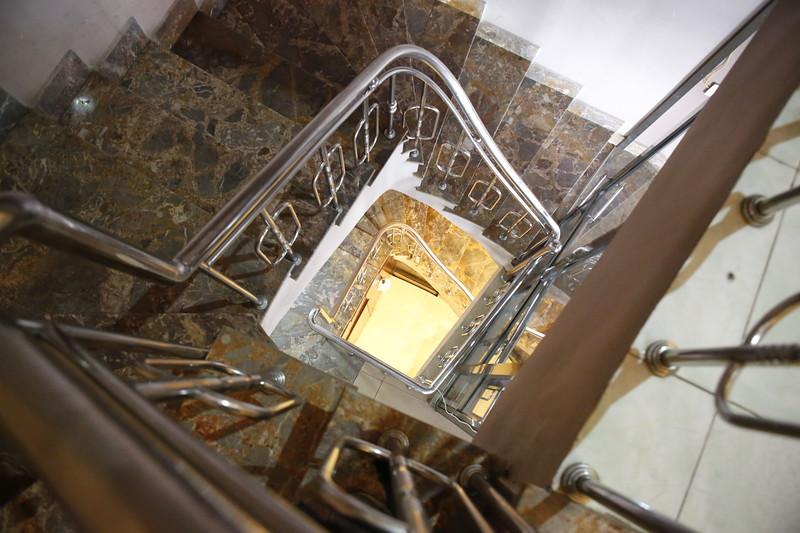 Spiraling Staircase at La Bordeaux
