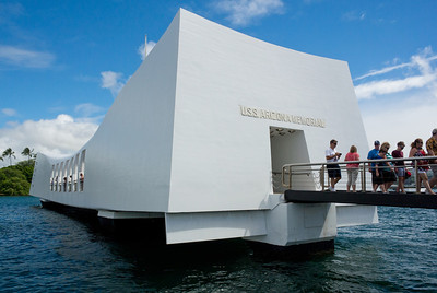 USS Arizona War Memorial - Honolulu