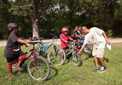 Pack 25 Bike Ride @ Frank Lyske Park 8-14-11 by Jon Strayhorn