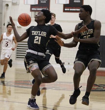 HS Sports - Taylor vs. Romulus Boys Basketball District