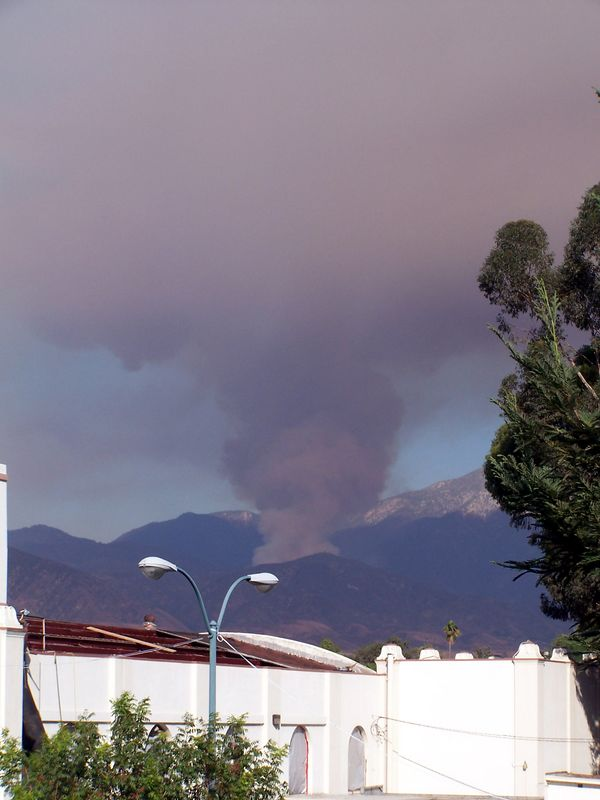 2005 - Fire in Redlands