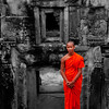 Young Buddhist monk, Siem Reap, Cambodia