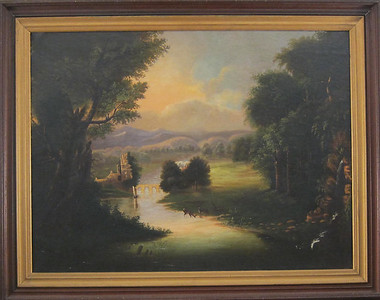 Hudson River painting