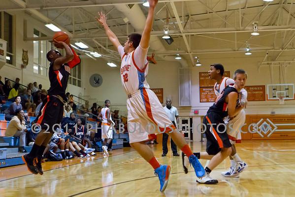 Winter Park @ Boone Boys JV Basketball - 2011