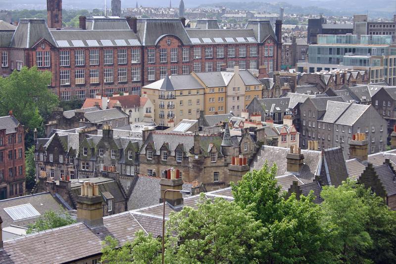 View from Castle Hill, Edinburgh