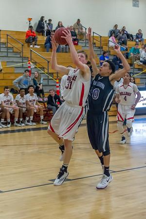 2015-02-06 BHS Basketball VS Porter Ridge