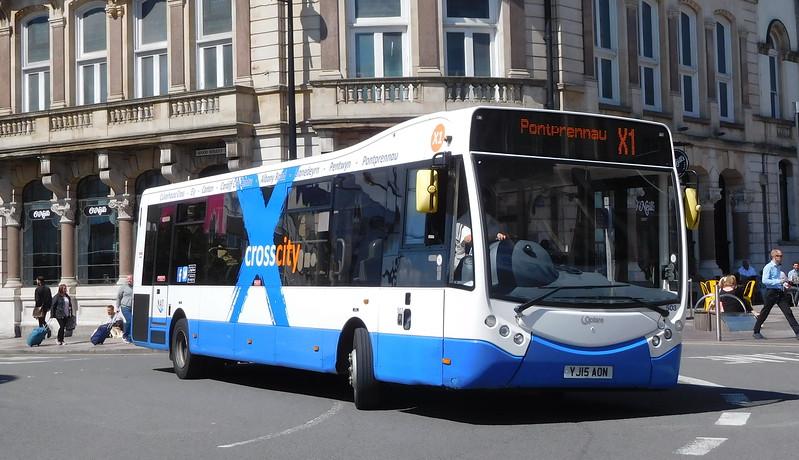 503 - YJ15AON - Cardiff (St. Mary St)