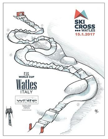 Jan 13-15, 2017 - Watles Audi FIS Ski Cross World Cup