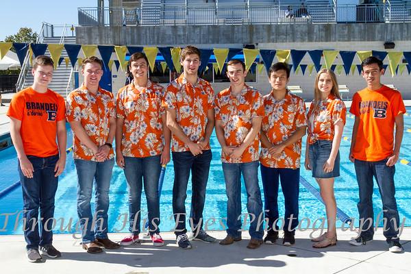 Brandeis Swim Team 2018-2019