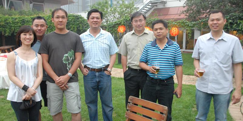 "Left to Right: Siu Lian, ""Robinhood"", Jerry, Chiang, Koh, Lim, Soo"