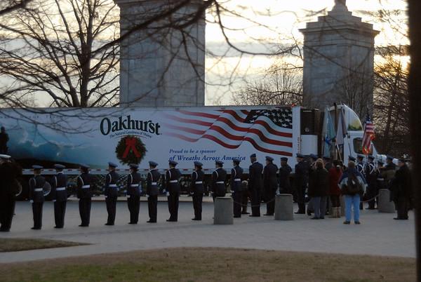 Troop 1313 - Wreaths Across America 2011