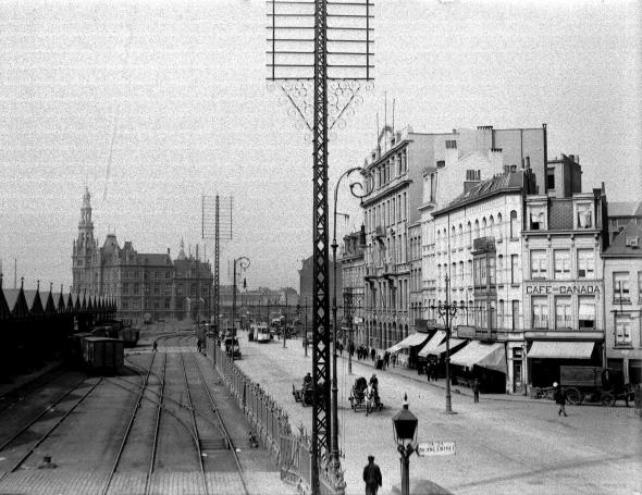 Foto's van Oud Antwerpen in grootmoeders tijd