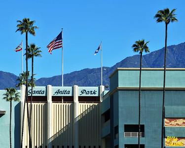 Santa Anita Park / Santa Anita Racetrack  Arcadia California /Sampler,  Broda Imaging 2013