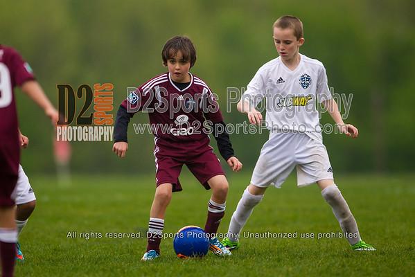U10 Boys Belgium-Twins vs Hannover-Rapids 4/25/2015