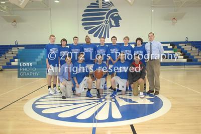 2013-1-10 James Caldwell HS Boys Basketball & Cheering