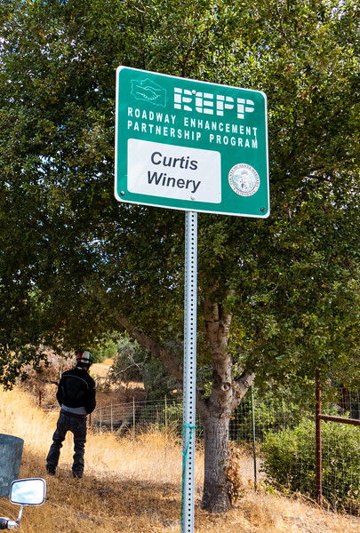 Curtis Winery roadway watering program: Engaged