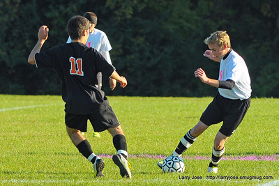 Jonesville vs Quincy Boys Varsity Soccer
