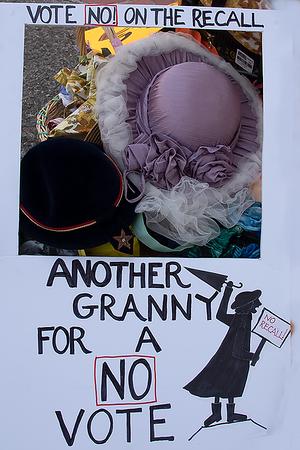 """28 Aug 2021 San Mateo:  """"No on the Recall"""" Rally"""