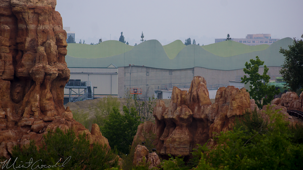 Disneyland Resort, Disneyland, Frontierland, Critter, Country, Star, Wars, land, Construction, Rivers, River, America, Tarzan, Treehouse, Big, Thunder, Mountain, Railroad