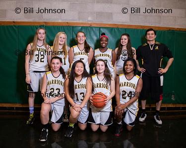 JV Basketball (Girls) Team and Roster Photos