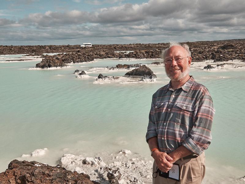 Paul at the Blue Lagoon