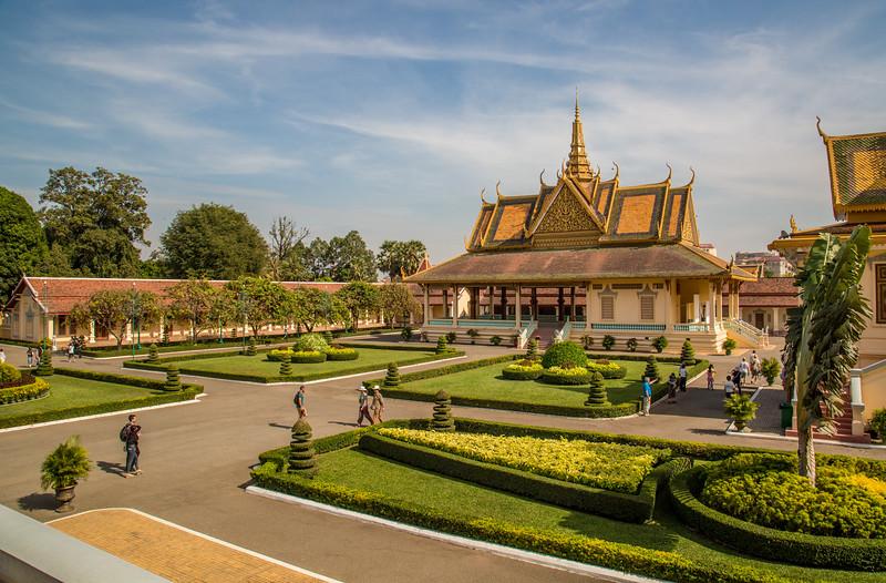 At the Royal Palace