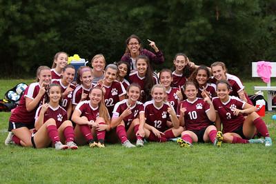Varsity Girls Soccer vs New Fairfield - 09/20/2018