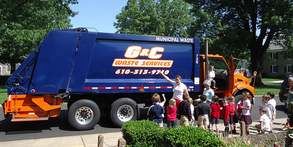 PRE-K GETS A VISIT FROM G&C WASTE SERVICES