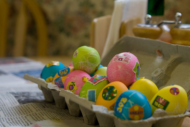 Beverly and Quinton's beautiful eggs