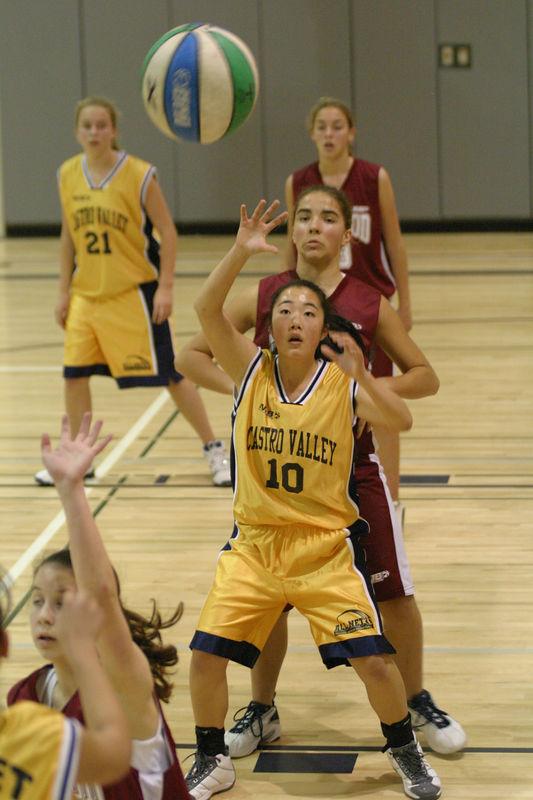 NJB 8th Grade All-Net Girls - Castro Valley vs Redwood City