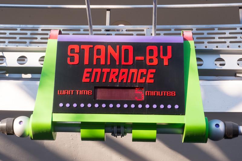 Buzz Lightyear Wait Time - Magic Kingdom Walt Disney World