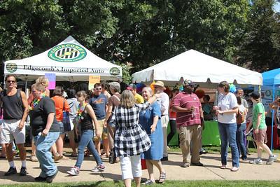 Charlottesville Pride Festival Sept 2012