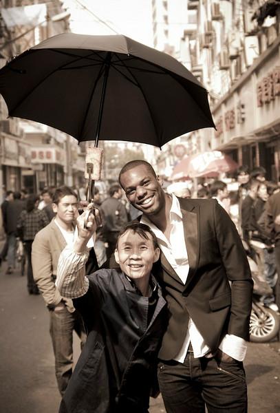 Lucius Clark, 2009 Shanghai