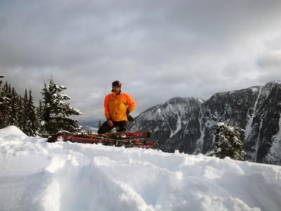 Heli-skiing Revelstoke <br>31 Jan - 3 Feb 2010