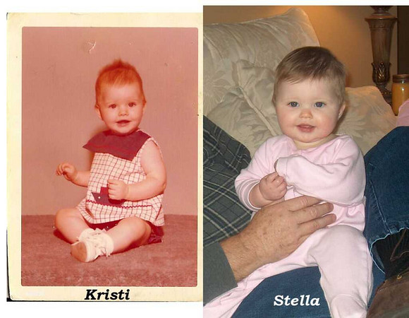 Does Stella look like Kristi?