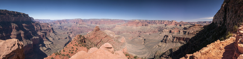 The Trail to Ooh Ahh Point Grand Canyon