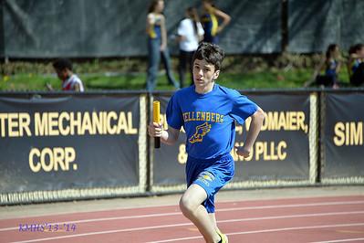 Boys Var Spring Track 5-3-14MrO'Connor
