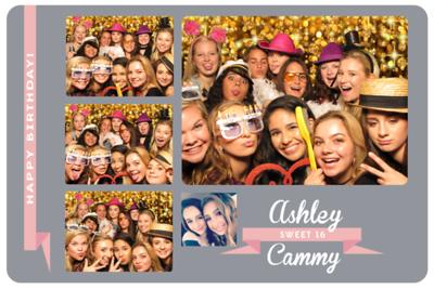Sweet 16 for Ashley & Cammy