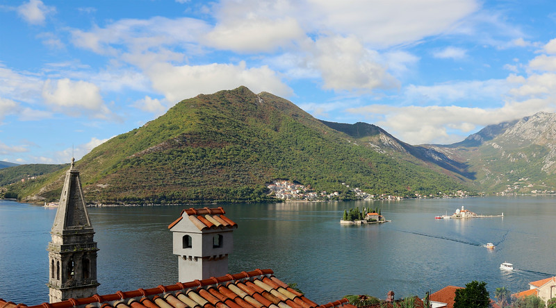 Islets in the  Bay of Kotor - Perast, Montenegro