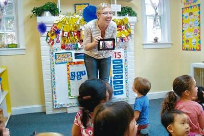 Nia at Preschool - 2014/2015 School Year