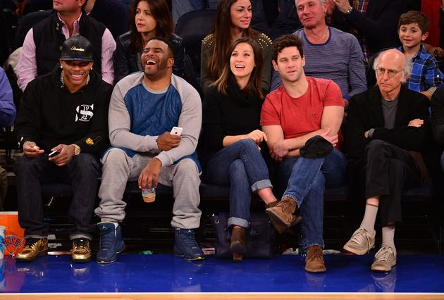 ". <p>10. (tie) LARRY DAVID: Sure looks like someone�s enthusiasm for the Knicks has been curbed. (previous ranking: unranked) <p><b><a href=\'http://www.thewrap.com/larry-david-unknowingly-took-perfect-picture-new-york-knicks-game-photo/\' target=""_blank\""> HUH?</a></b> <p>   (Getty Images)"