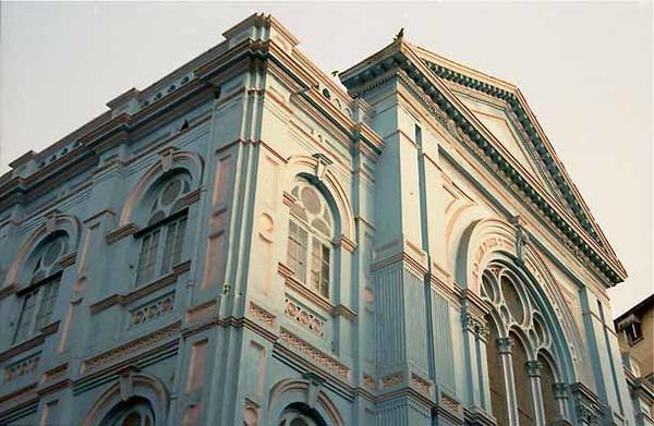 INDIA, Mumbai (Bombay). Keneseth Eliyahoo (Gathering of Elijah) Synagogue, 1884. (2001)