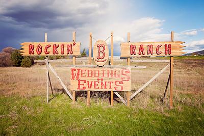 Pen+Jen {A Rockin B Wedding!}