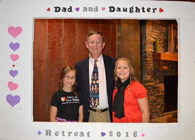 2016 Dad and Daughter Retreat