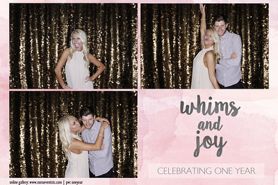 Whims And Joy Turns 1!
